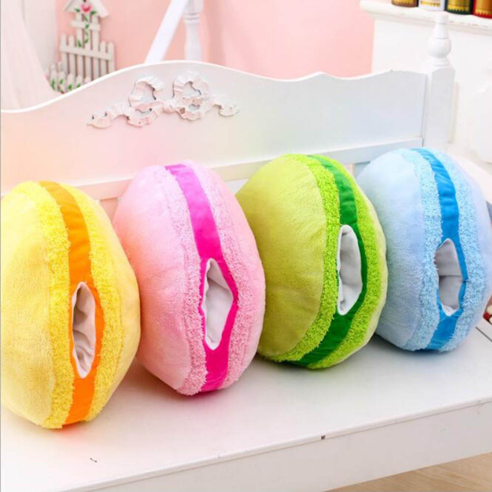 Garden Supplies Active 3d Fruit Lemon Kiwi Cushion Sponge Pillows Round Soft Plush Chair Seat Cushion Pillow Home Office Car Decorative Pillows 38 Cm Garden Pots & Planters