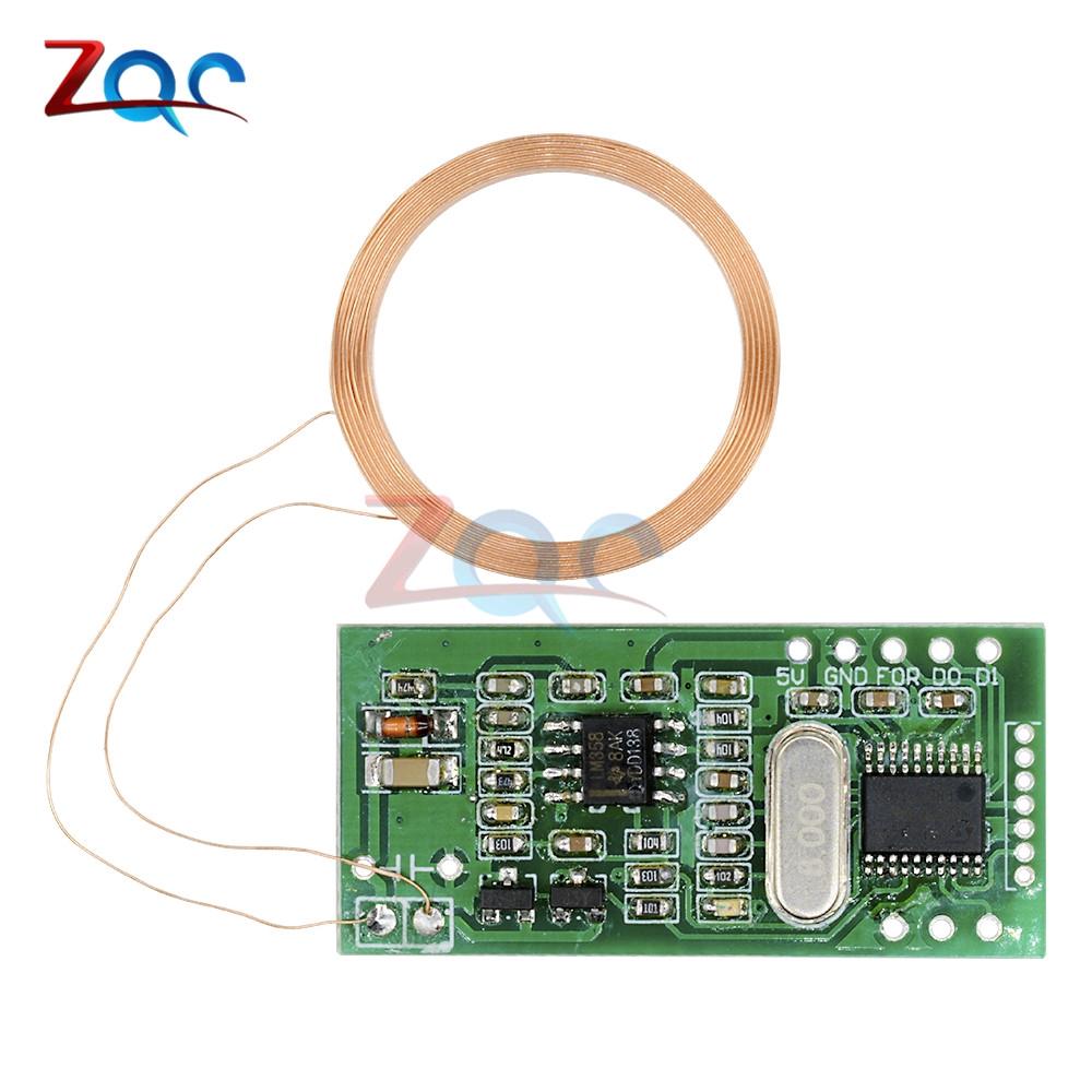 RFID Reader Wireless Module UART 3Pin 125KHz Card Reading