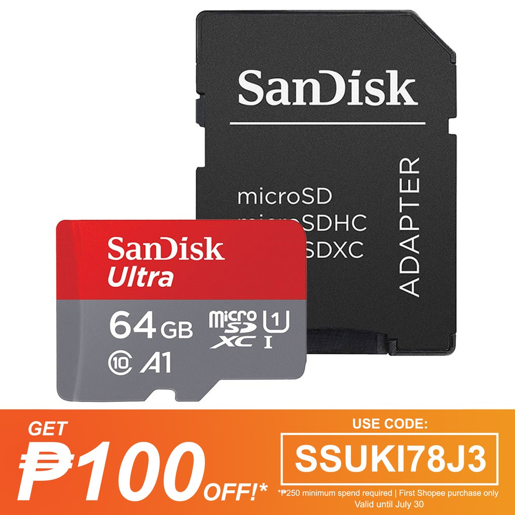 Toshiba Exceria 90mbps 64gb Micro Sdxc Uhs 1 Class 10 Shopee I 48mb S Philippines