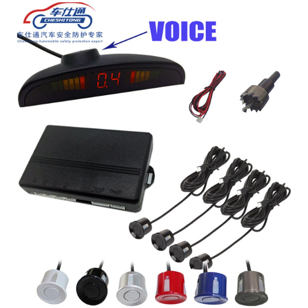 Human voice with Russian Car Parking Sensor for all cars