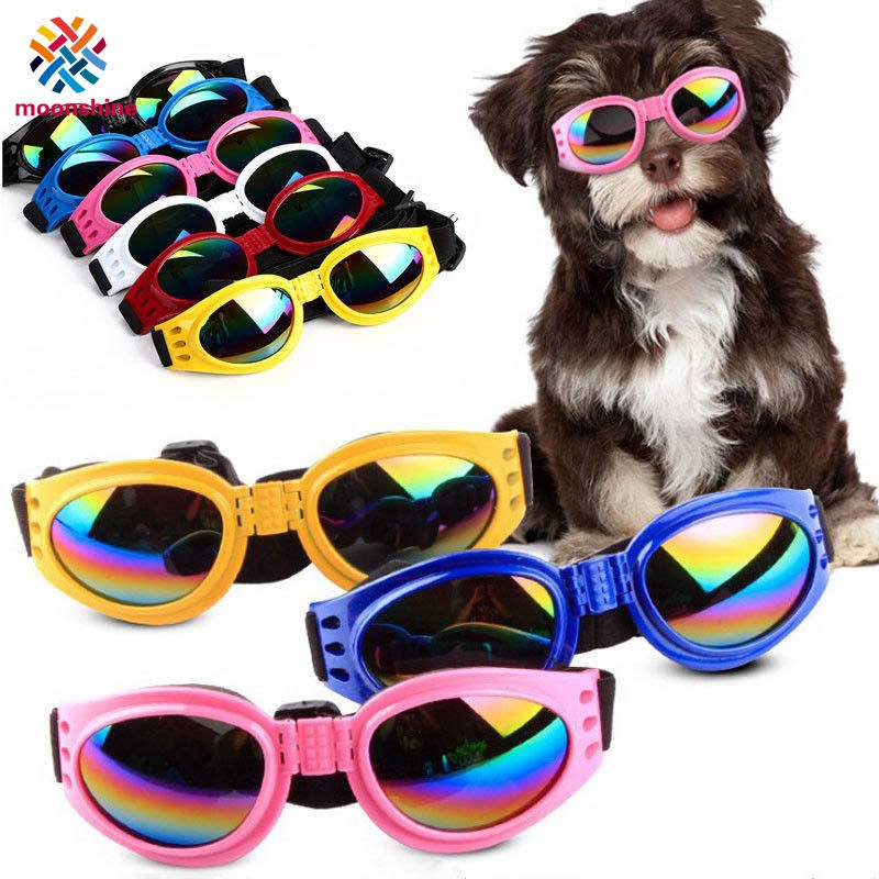 6f053fb33cf5f Fashion Small Pet Dog Goggles UV Sunglasses Sun Glasses Eye Protection Wear