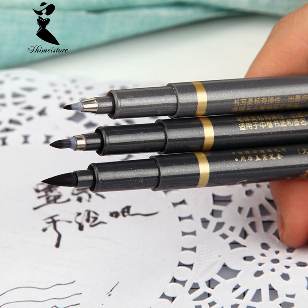 Chinese Japanese Calligraphy  Brush Ink Pen Writing Craft