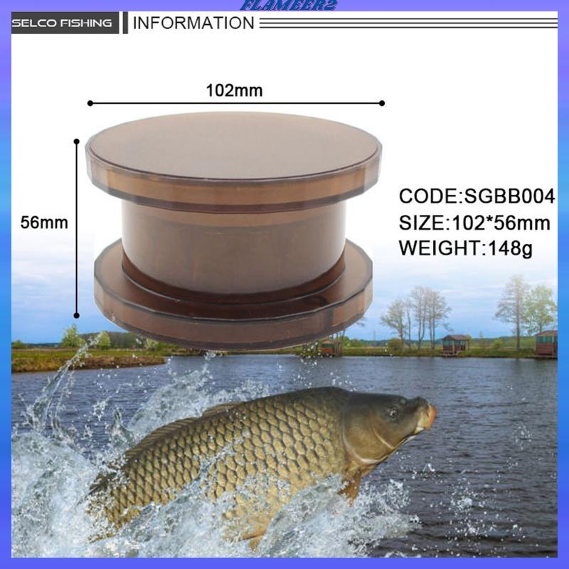 Lightweight Convenient Compact Pellets Fishing Bait Crusher Boilie Grinder Box
