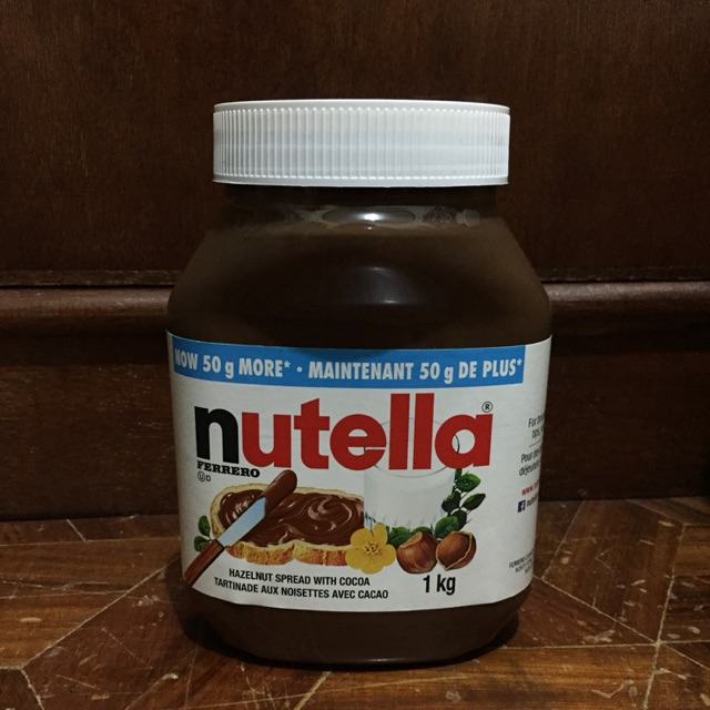 Nutella Hazelnut Spread in 1kg