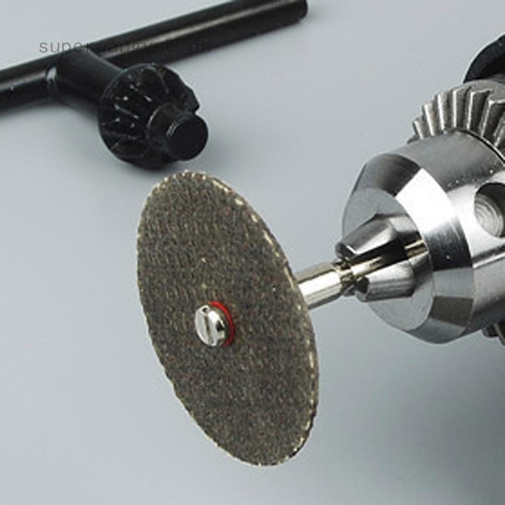 30X 32mm Resin Cutting Wheel Discs Rotary Tool 2mm Mandrel Kit Discs Tool