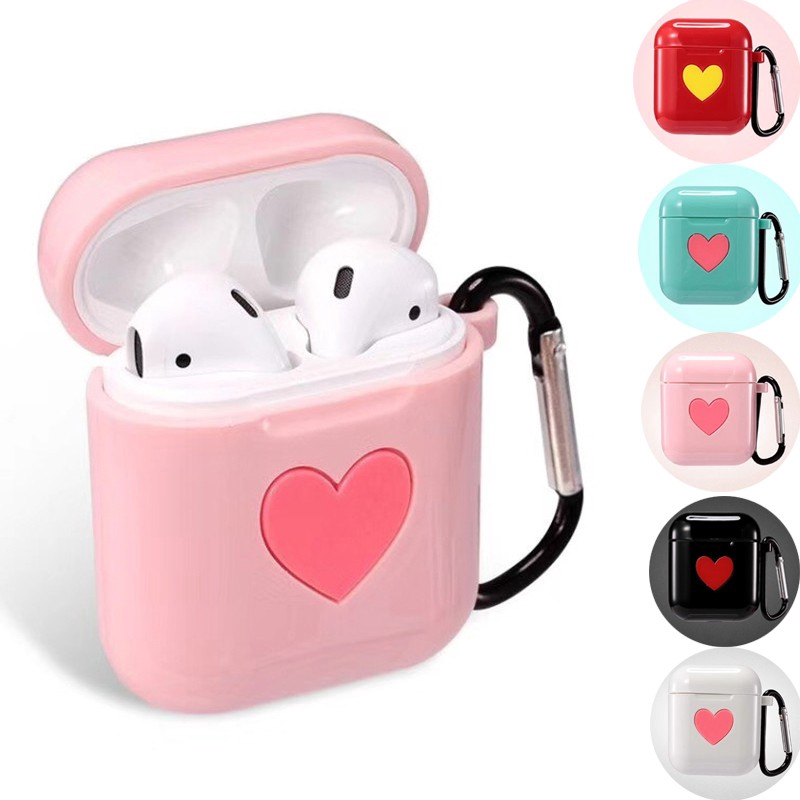 Cute Earphone Silicone Protective Case For Apple Airpods