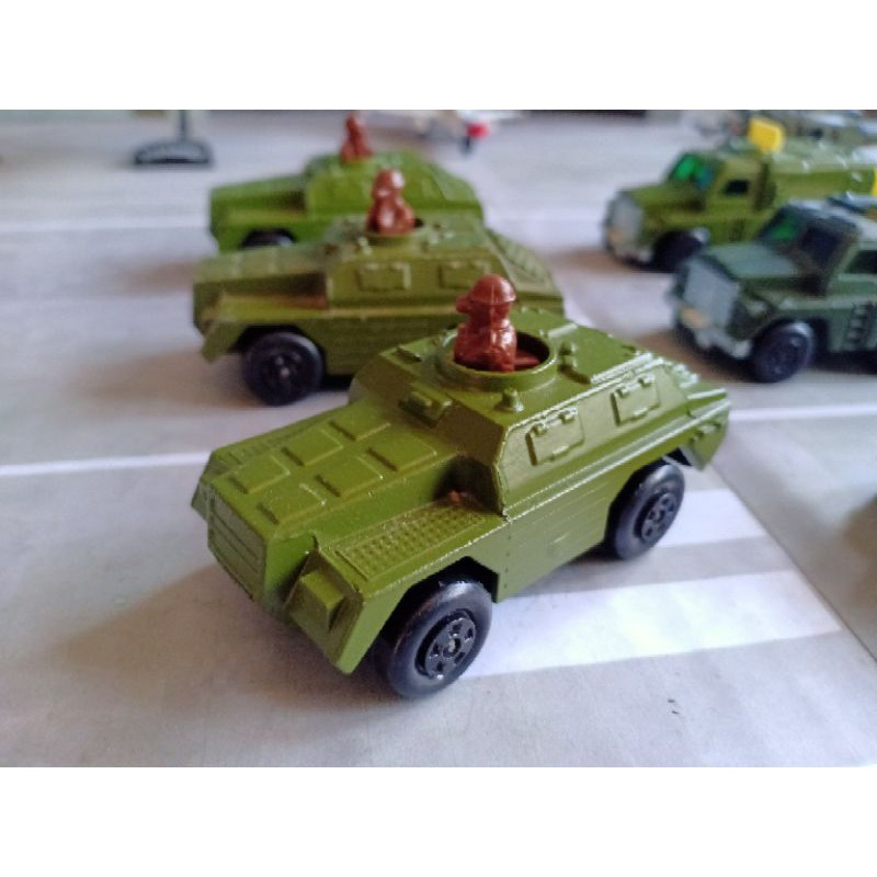 Matchbox Lesney Made In England Rolamatics Army Military Toy Scout Vehicle Diecast Vintage Shopee Philippines