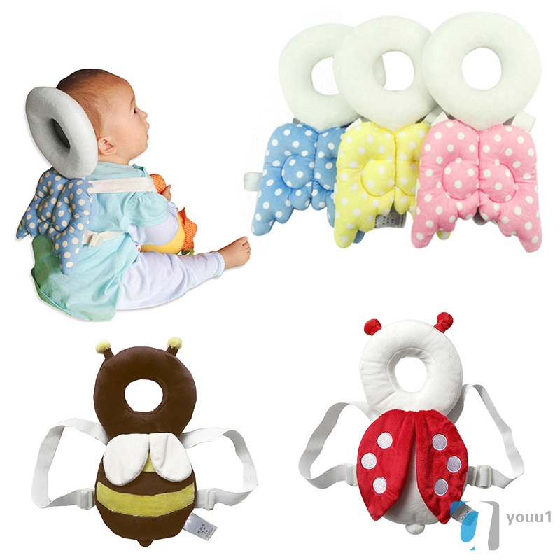 Baby Bedding Clever Cute Toddler Headrest Baby Shatter Resistant Pillow Children Head Protection Cushion For Baby Care Learn To Walk Attractive Fashion Pillow