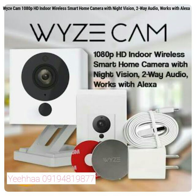 Wyze Cam Smart Home Caera with Night Vision