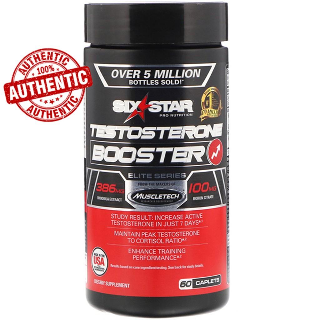 Six Star Elite Series Testosterone Booster 60 Caplets Shopee Philippines