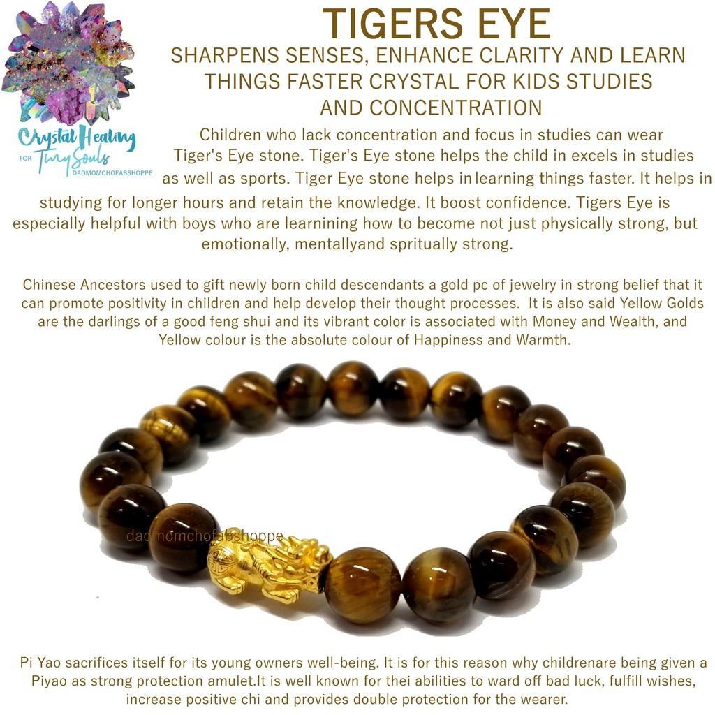 9123f88959220 Authentic Tiger Eye Pi Yao Bracelet - Protection