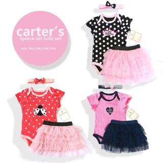 716709f58 CARTER's BABY GIRL 3PCS TUTU SET | Shopee Philippines