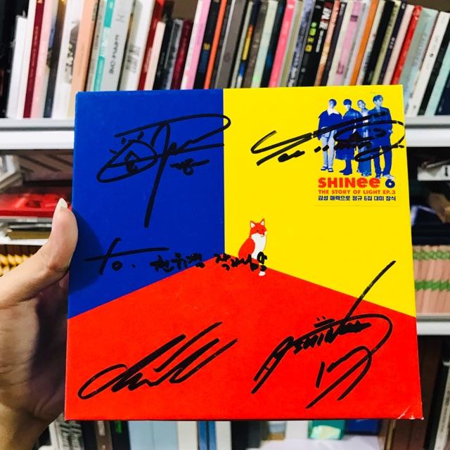 (DAMAGED)SHINEE TSOL SIGNED album