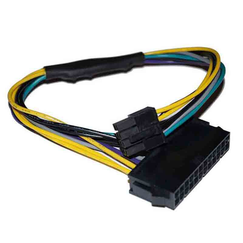 24Pin Female to DELL Optiplex Server Motherboard 8Pin Male Adapter Power CableTC