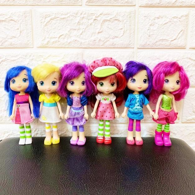 Strawberry Shortcake Friends Doll Set Shopee Philippines