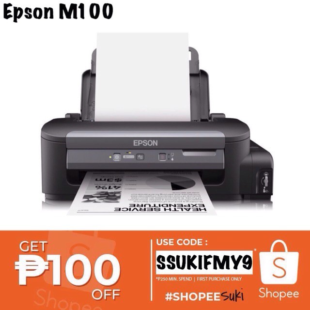 7 7 Sale!Epson M100 Mono Ink Tank Printer