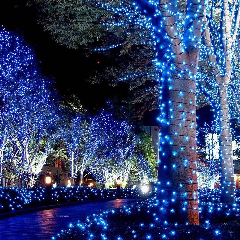 Decorative Lights Decorative Lights Outdoor Solar Led Starry Sky Christmas Tree Lights Hanging Lights Colored Lights Outdoor Waterproof Decorative Lights Shop Mall Wedding String Lights Shopee Philippines