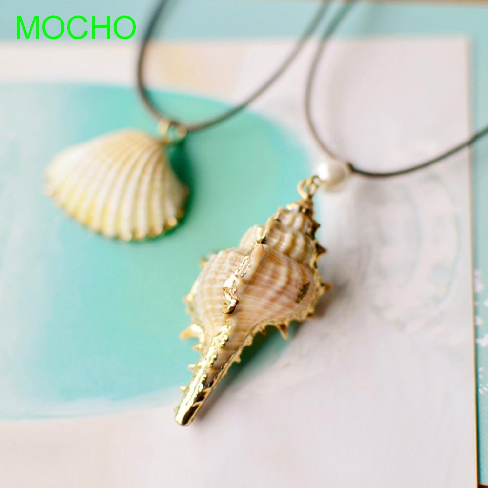Seashell Fashion Jewelry Beach Party Women Gift Conch Necklace