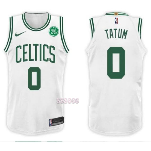 on sale b2c2f 51b1f Celtics Jayson Tatum NBA White Jersey #0 Nike