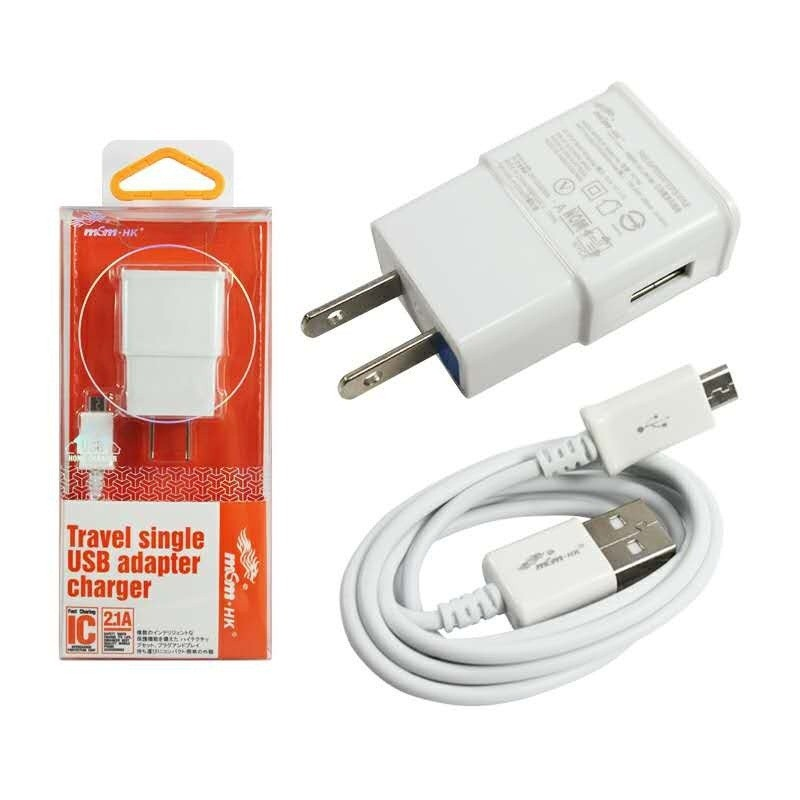 MSM HK 2 1A microUSB USB Fast Charger for Android PC768