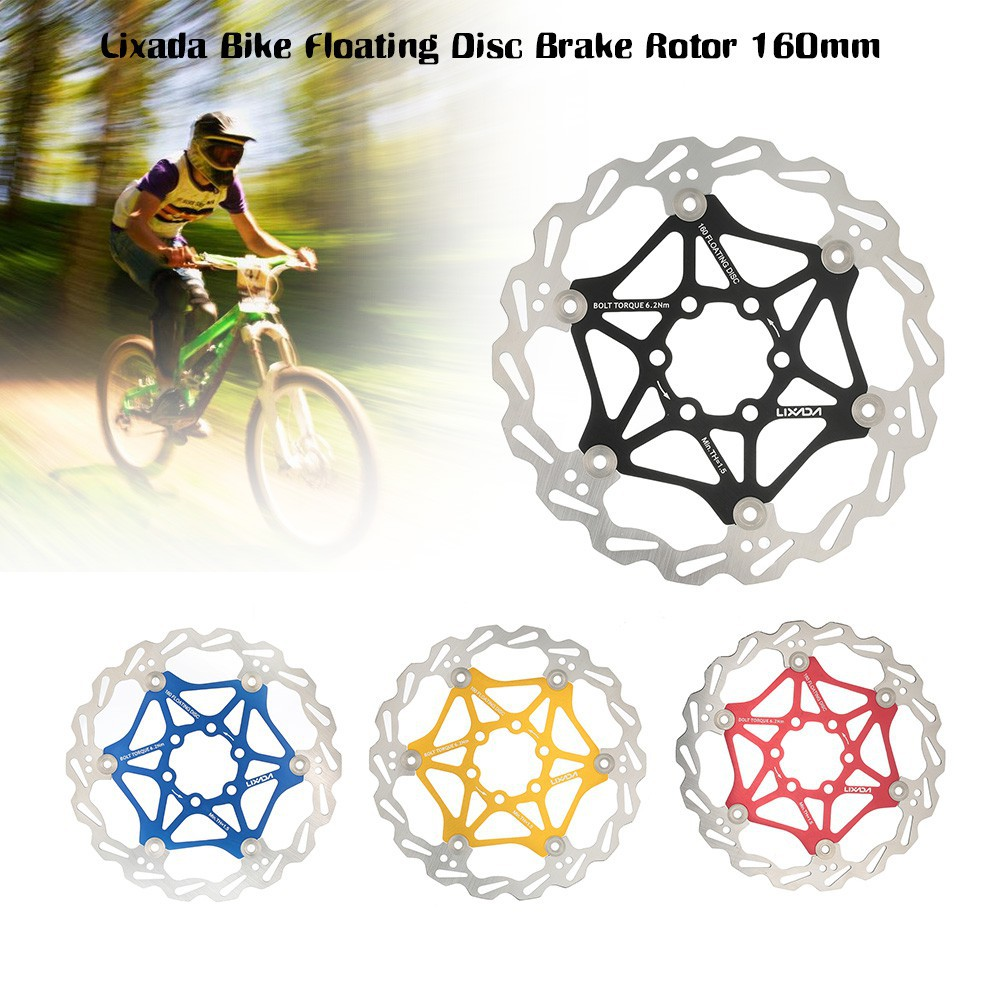 Helpful Mtb Dh 180mm Floating Disc Mountain Bike Brake Rotor Cycling Bicycle Rotors Strong Resistance To Heat And Hard Wearing Sporting Goods Bicycle Components & Parts