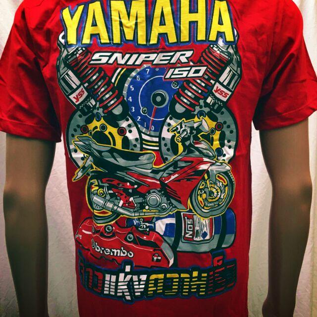 Motorcycle Tshirt, Longsleeve Sniper 150