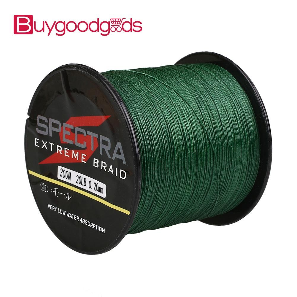 300M 500M 10LB-100LB Spectra PE Extreme Braided Fishing Line Moss Green | Shopee Philippines