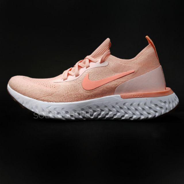 nike peach shoes