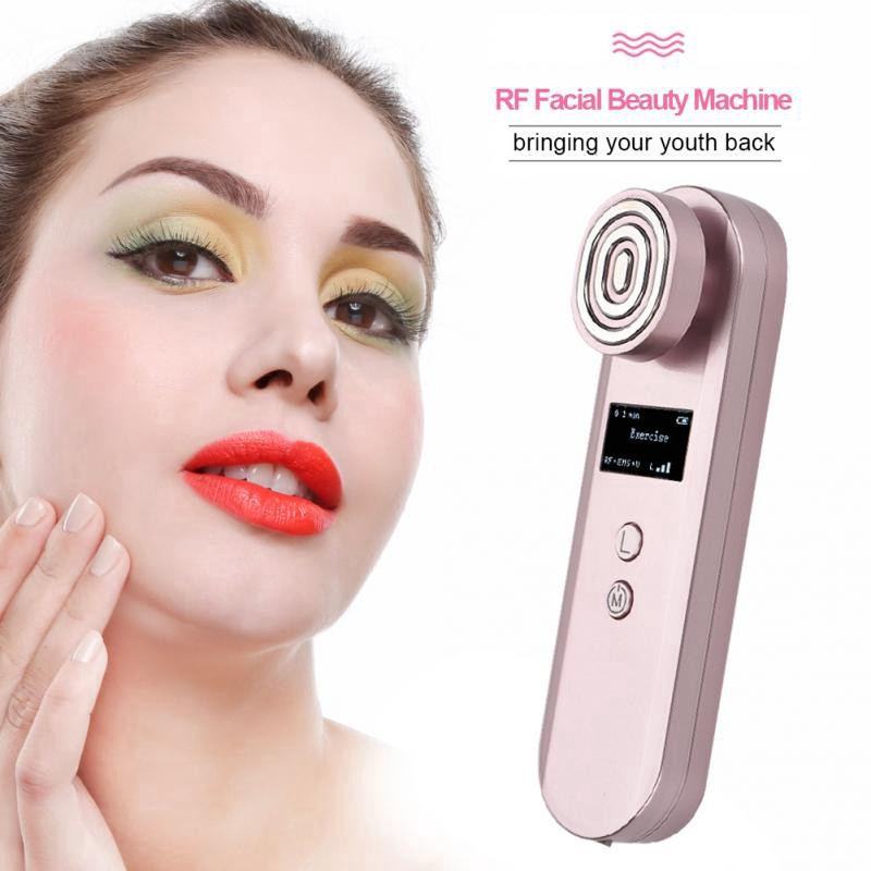 Analytical Radio Frequency Electroporation No Needle Mesoporation Ems Led Photon Face Lift Rf Thermage Skin Rejuvenation Face Beauty Device Beauty & Health