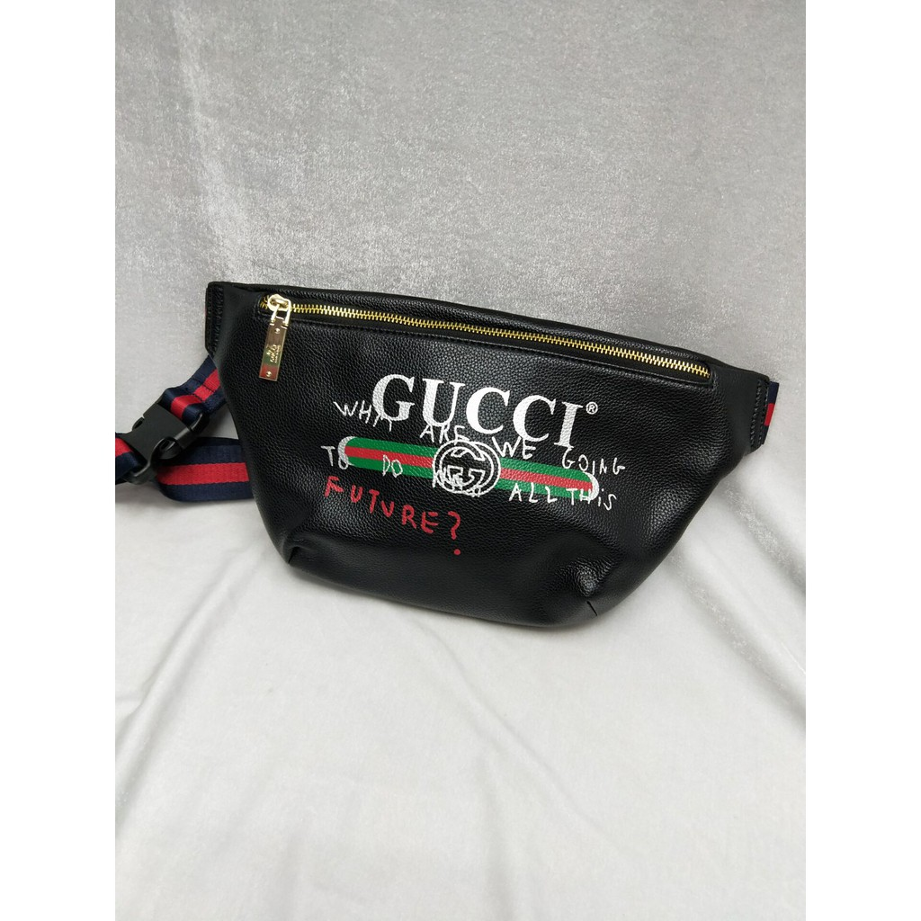 5817af67f012 Gucci Coco Capitan Logo Belt Fanny Pack Bag | Shopee Philippines