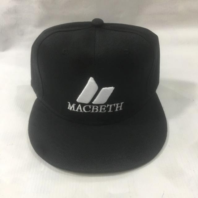 17c744617 macbeth snapback cap