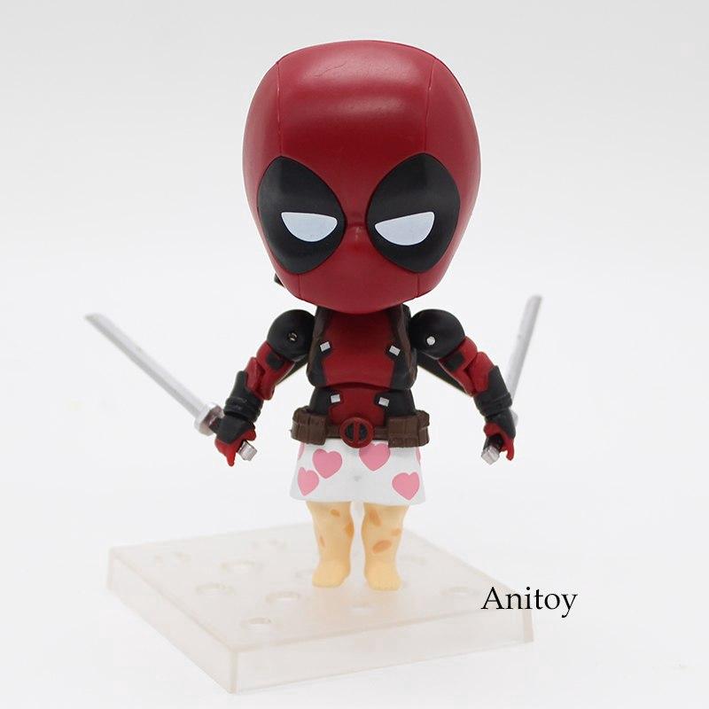 Gurihiru Studios Mini Figure Collection Deadpool Kotobukiya 1 Box of 4 NEW!