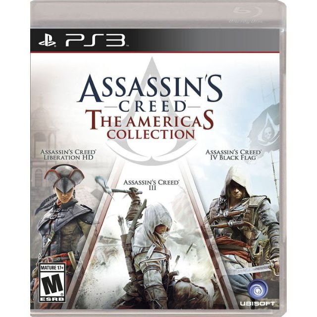 Assassin S Creed The Americas Collection Ps3 Shopee Philippines