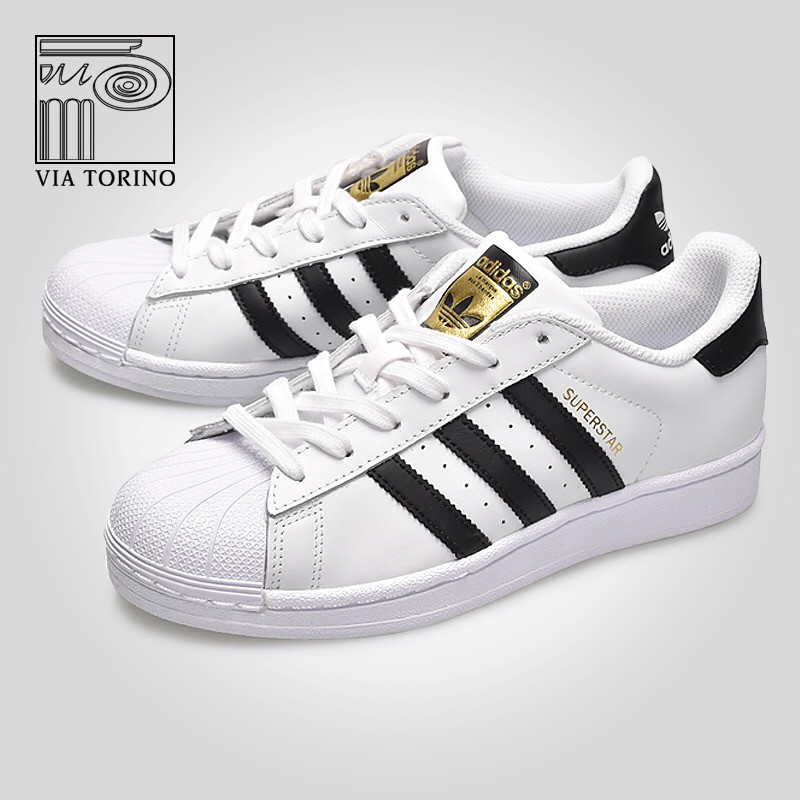 Adidas Superstar Unisex Low Cut Running Sports Sneakers Shoes For Women Men