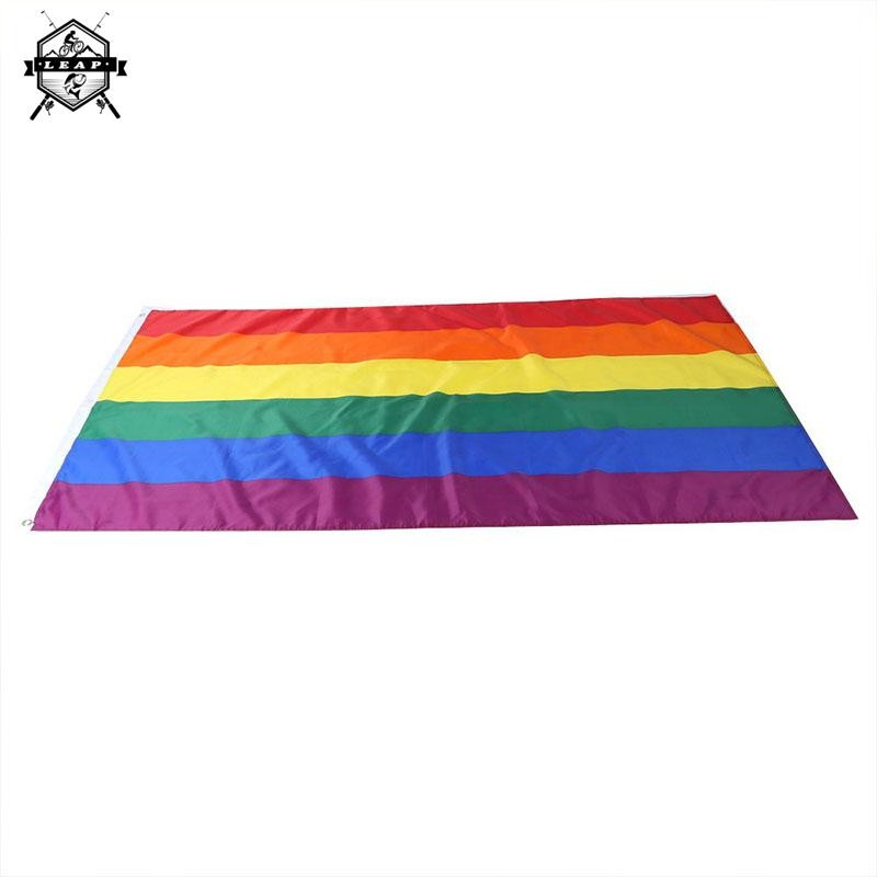 4 Toy Action & Toy Figures Rainbow Desktop Lesbian Gay Pride Colorful Decoration Flag Banners No
