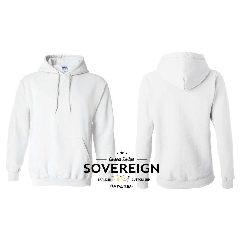 Gildan hooded Sweatshirt Heavy blend hoodie Plain Fleece Pullover S 5X Black