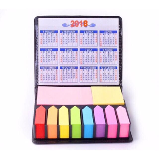169 Sticky Note with calendar 2020-2021