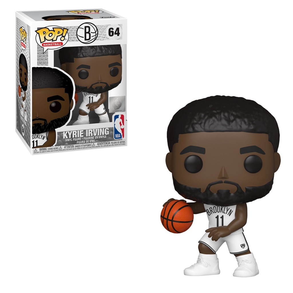 Funko NBA Brooklyn Nets POP! Sports Basketball Kyrie Irving Vinyl Figure  #64