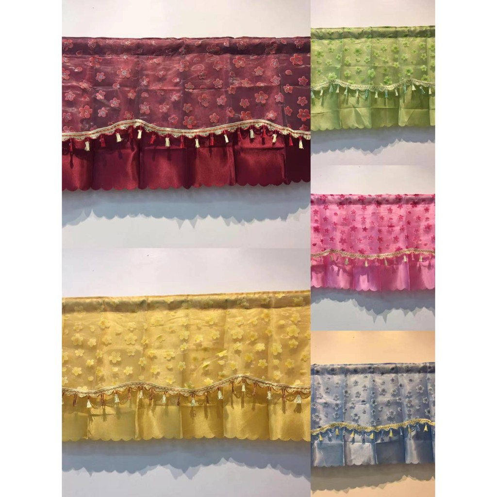 Elegant Curtain Valance Fresh Window 7027
