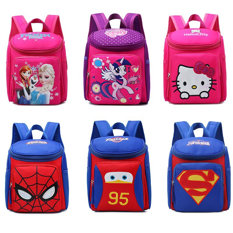 Cici Kids Cute Toy Cartoon Children Backpack School Bags Shopee Philippines
