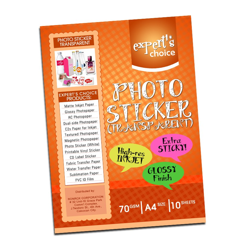 photograph about Printable Vinyl Sticker known as Picture sticker Clear