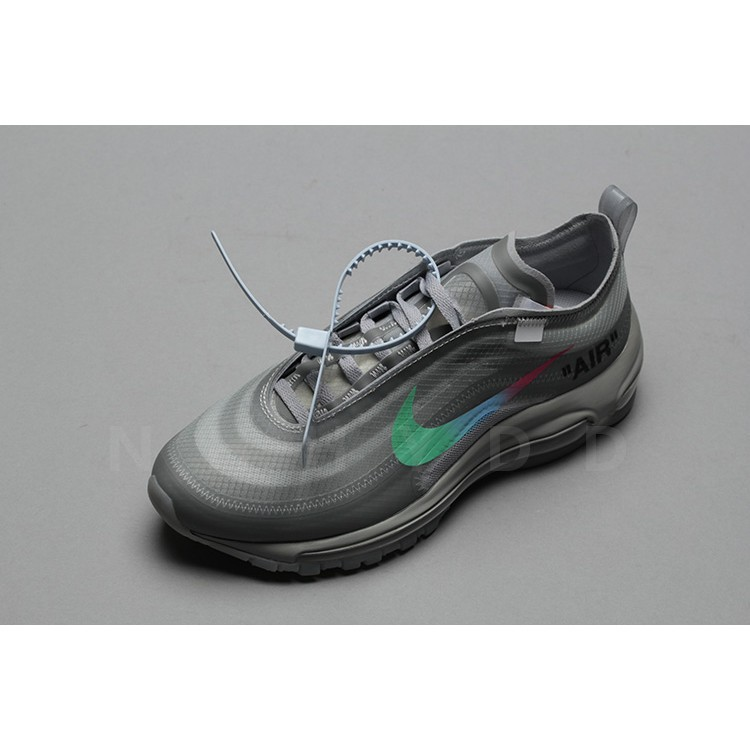 super popular b2b46 1545e 100% Original Casual OFF-WHITE x Nike Air Max 97 Menta Casual Casual  Sneakers