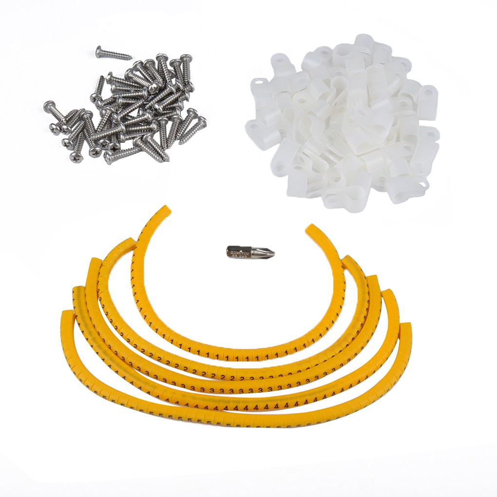 Plastic Nylon 66 R Type Hose Pipe Clip Fastener Clamp for Wire Sleeving Conduit