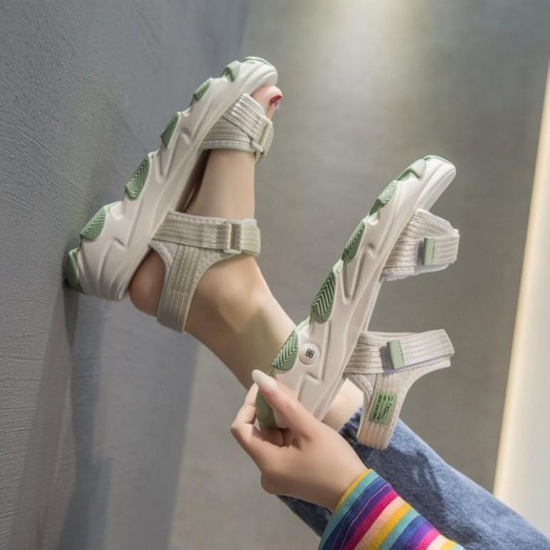 Women Fashion Thick Platform Muffin Sandals