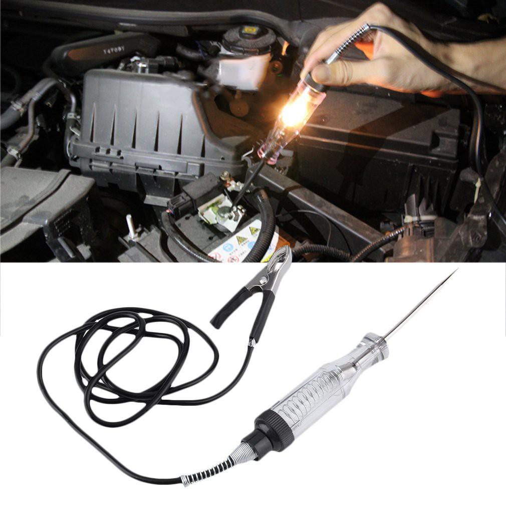 1pc Car Automotive Voltage Circuit Tester For 6 24v Dc Probe Pen 12v Heavy Duty Auto Test Light Checks Fuse Shopee Philippines
