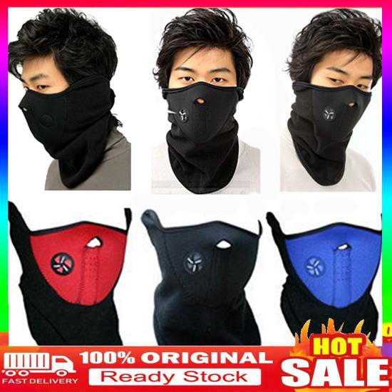 【charmissdear.kz】Fashion Unisex Ski Snowboard Motorcycle Bicycle Winter Sport Face Mask Neck Warmer