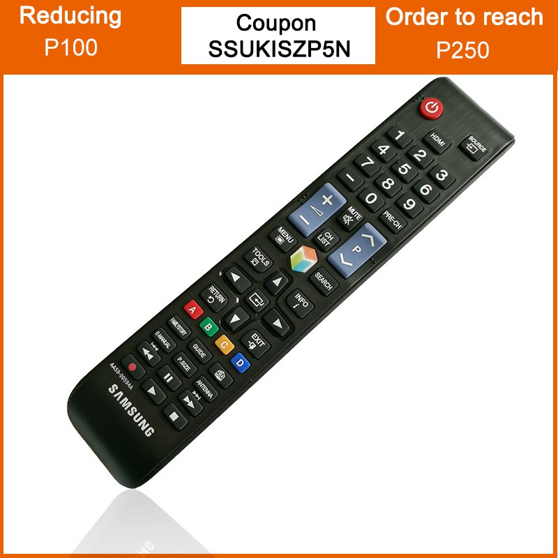 Samsung AA59 Smart Universal Replacement TV Remote Control