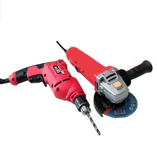 ENERGY Grinder With Drill Set(RED)