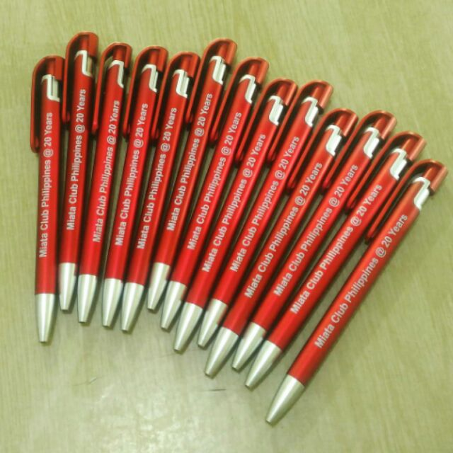Personalized ballpen giveaways philippines corporate