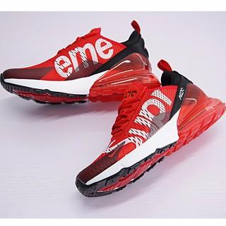 new styles 83f67 fcc76 Nike Air Max 270 x Supreme Men Airmax 27c Running Shoes ...